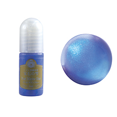 resin color pearl marine blue