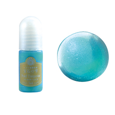 resin color pearl turquoise